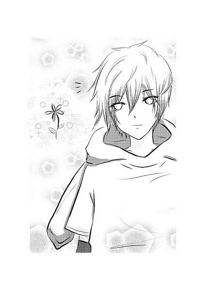 憂鬱小兔與花兒