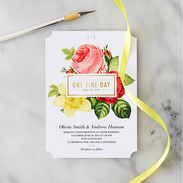 DIY-Yellow-Ribbon-Invitation-1