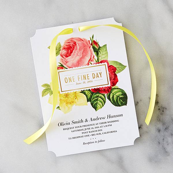 DIY-Yellow-Ribbon-Invitation-2