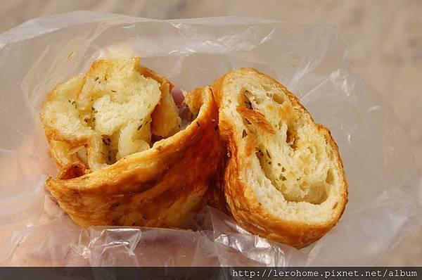 圓形香蒜麵包