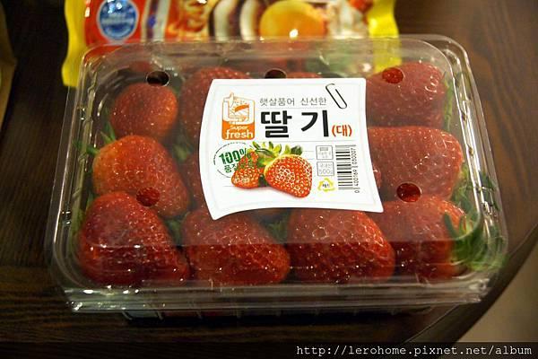 韓國大草莓