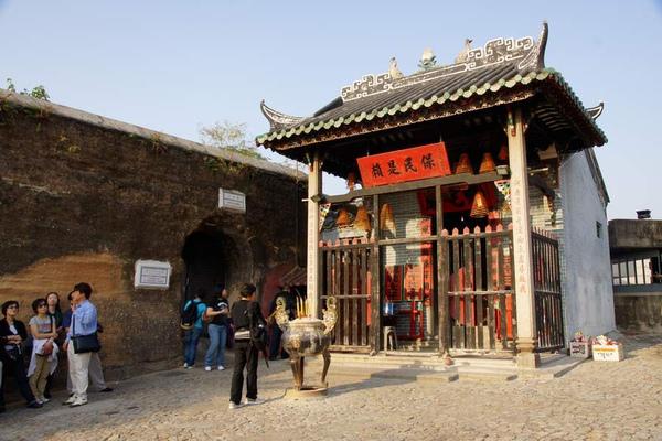 哪吒廟與古牆