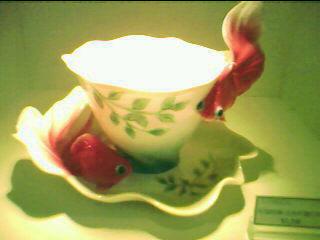 金魚杯 法蘭瓷