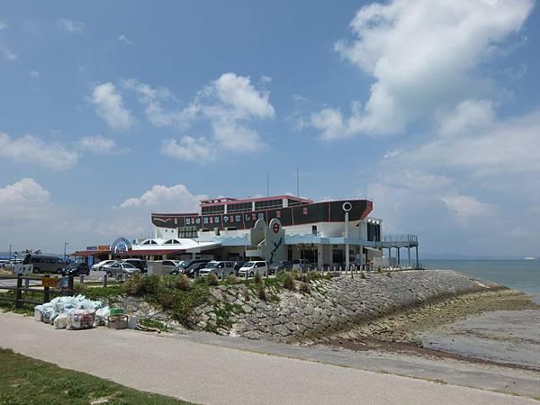 海中道路海灘