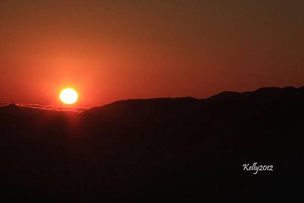 拉拉山夕陽 2012-10-20 090