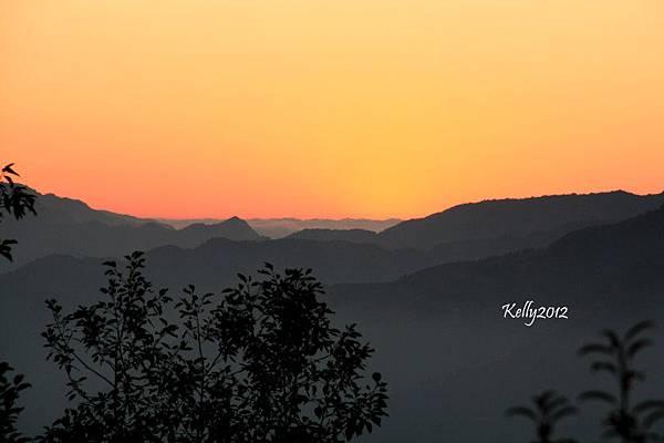 拉拉山夕陽 2012-10-20 123