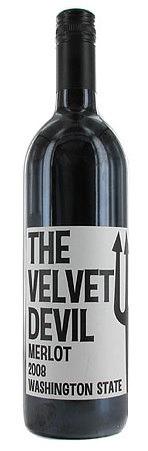 The Velvet Devil Merlot 2008