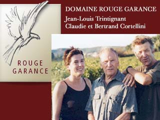 Domaine Rouge Garance