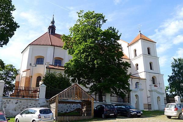 Lithuania_13_Trakai Parish Church of the Visitation of the blessed Virgin Mary.JPG