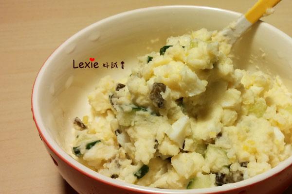 馬鈴薯雞蛋醬瓜沙拉1