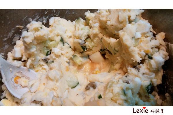 馬鈴薯雞蛋醬瓜沙拉5