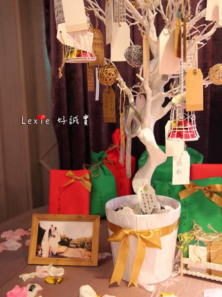 婚禮許願樹DIY7