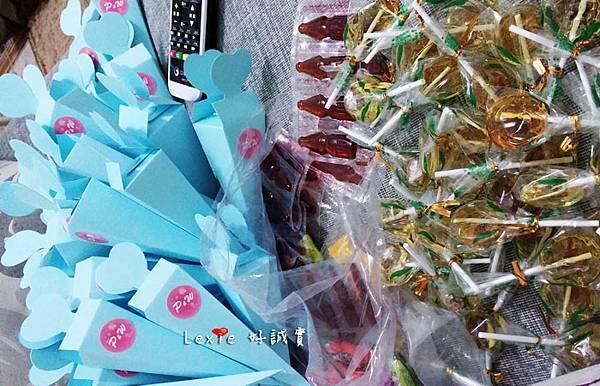 婚禮佈置桌花喜糖盒3
