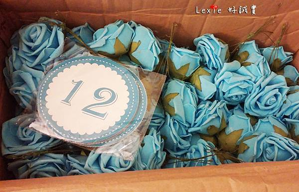 婚禮佈置桌花喜糖盒7