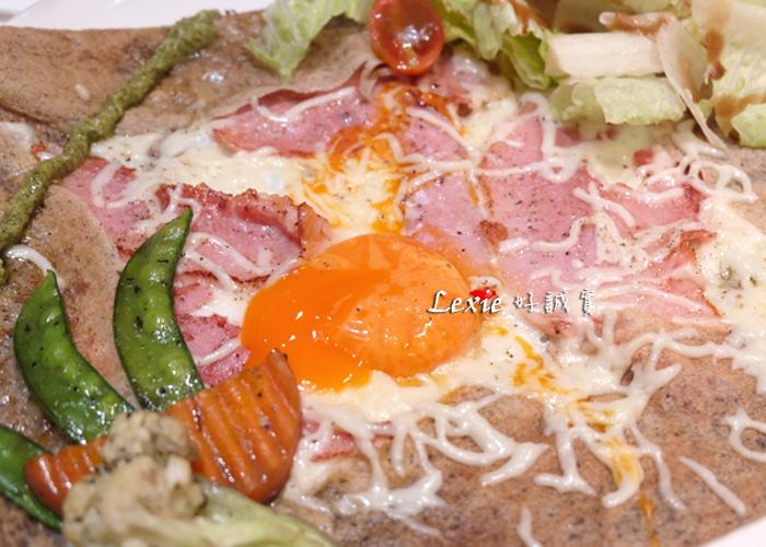 法孚Cafe-v鹹甜薄餅3