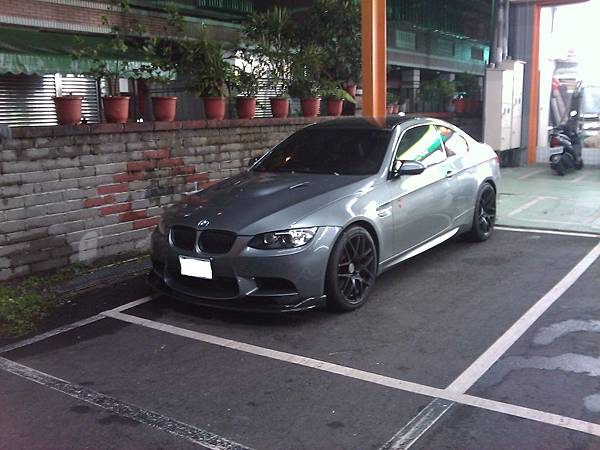 BMW M3 Coupe(車頭)
