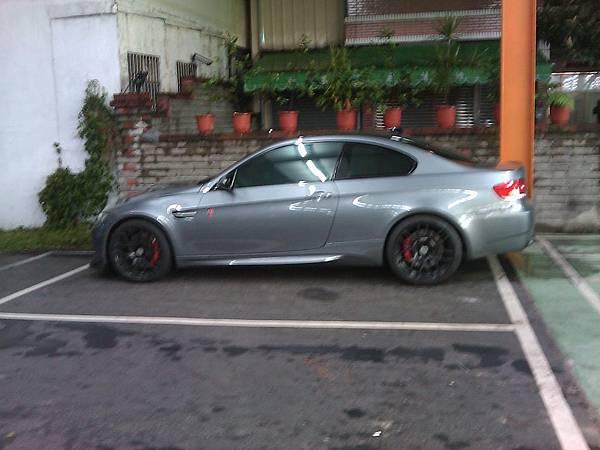 BMW M3 Coupe(車側)