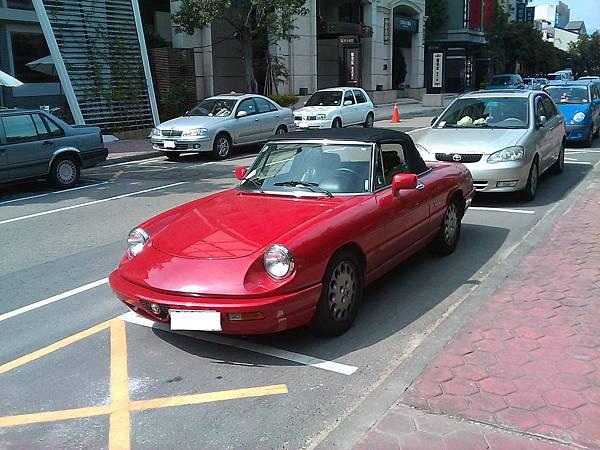 Alfa Romeo Spider Veloce(車頭)