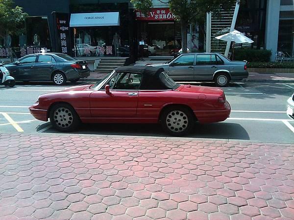 Alfa Romeo Spider Veloce(車側)