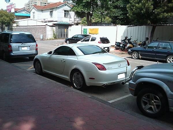 LEXUS SC430(車尾)