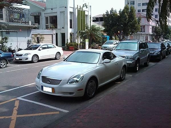 LEXUS SC430(車頭)