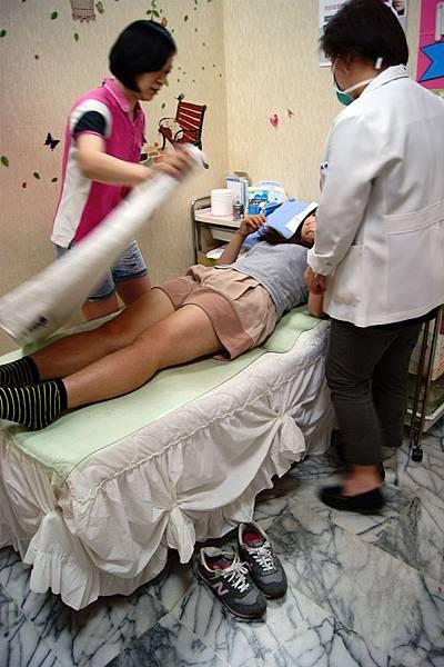 中醫埋線減肥流程5