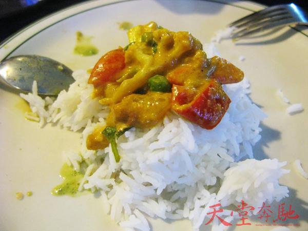 蔬菜咖哩飯