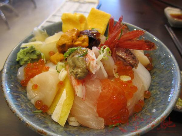 海鮮丼+海膽