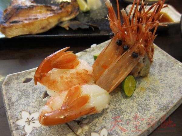 牡丹蝦兩貫