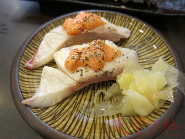 炙奶油海鱺魚兩貫