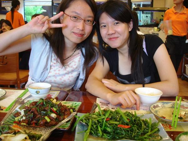美國聚餐會 Lu Lu與Nicole