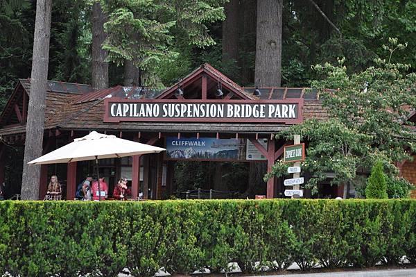 bridge park sign