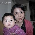 Gigi的臉比媽媽還U和白...(難得我可以上鏡,還是靚靚對我最好!!)