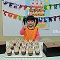 11.01-在校老師幫靚慶生,蛋糕出自米阿姨手