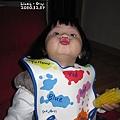 哈哈哈哈哈哈哈....跟她說豬嘴巴就變會這樣