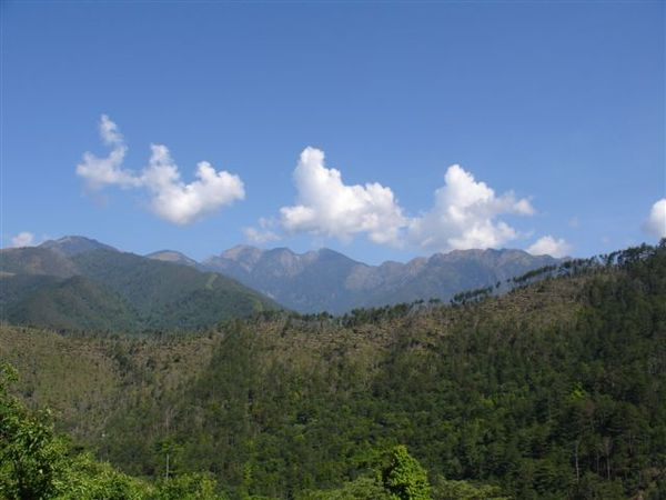 雪山主峰、北稜角、甘木林山、東峰