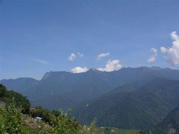 劍山、佳陽山與大劍山