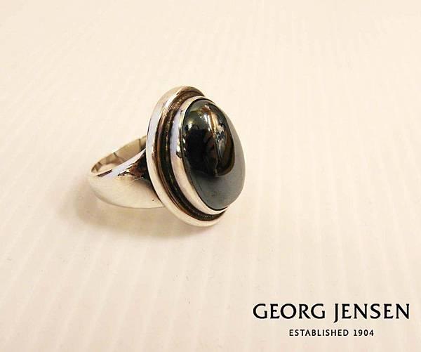 GEORG JENSEN喬治傑生灰鐵石戒指