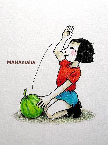 手刀切西瓜