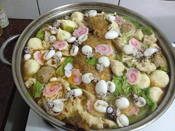 豪華沙茶魚鍋