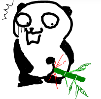 被竹子拜觀音的貓熊.png
