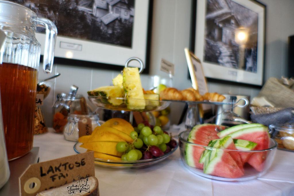 Hotel Utsikten早餐