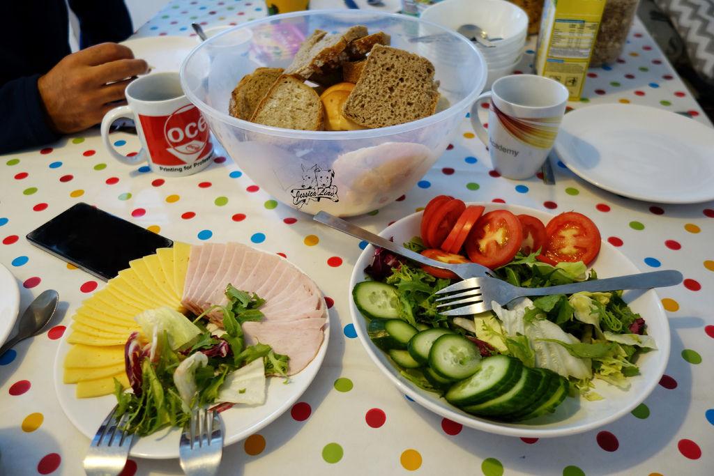 nutritious breakfast 營養豐富的早餐