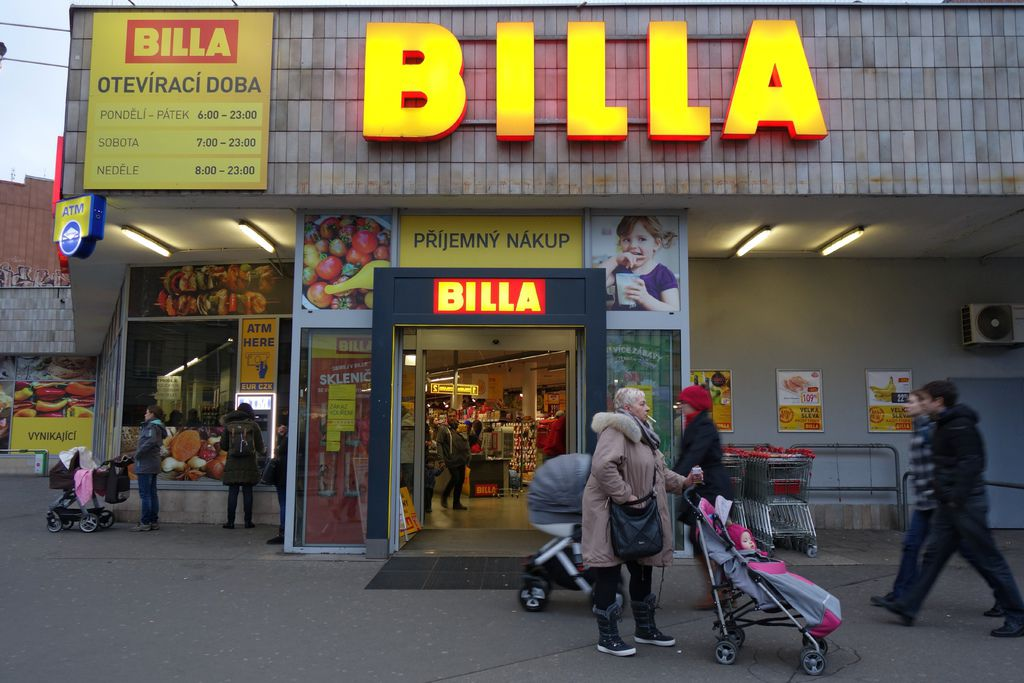 BILLA market