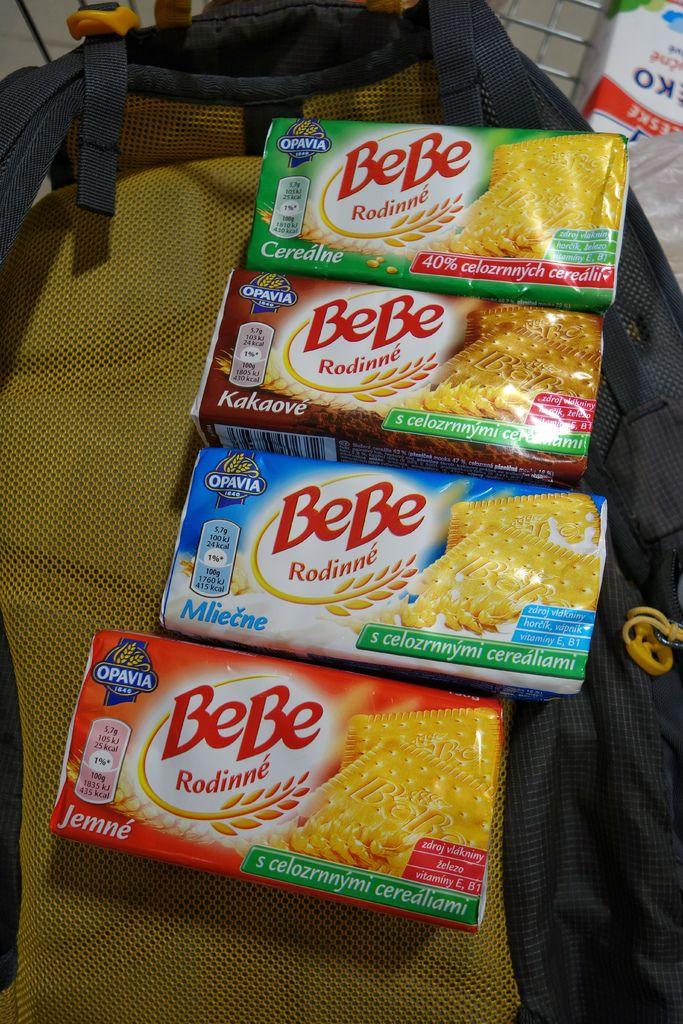 BeBe蘇打餅乾