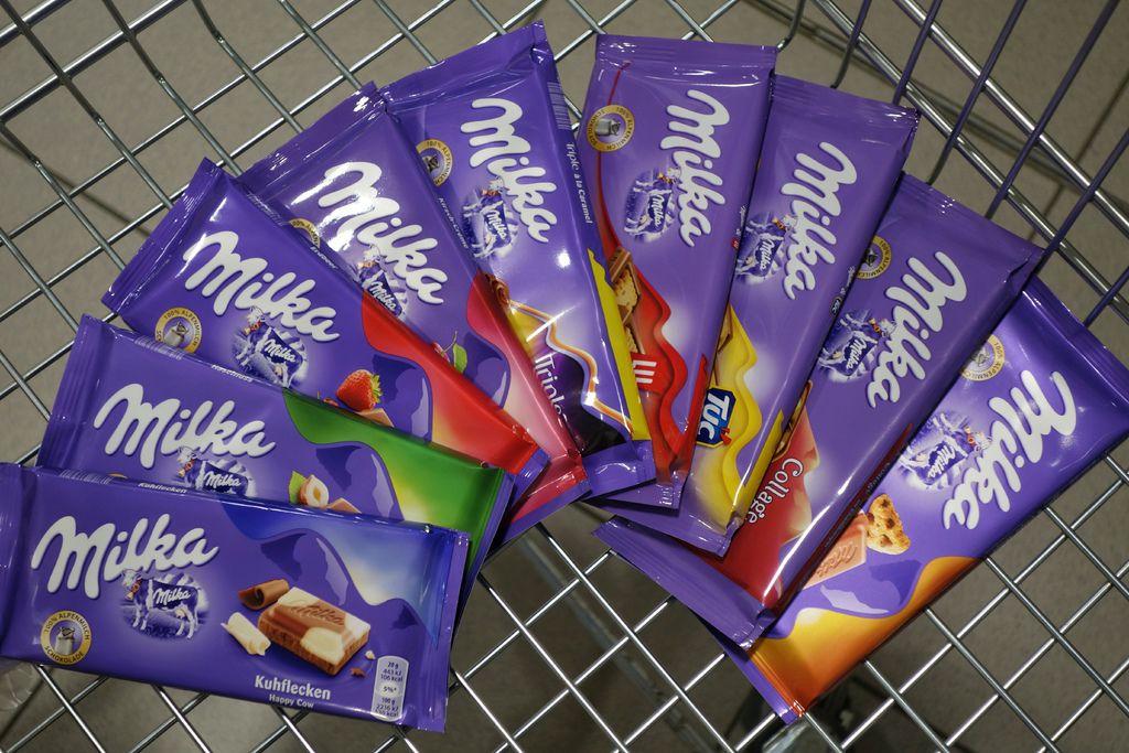 Milka巧克力