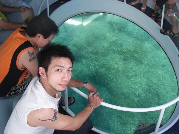 下一個行程——水底半潛艇