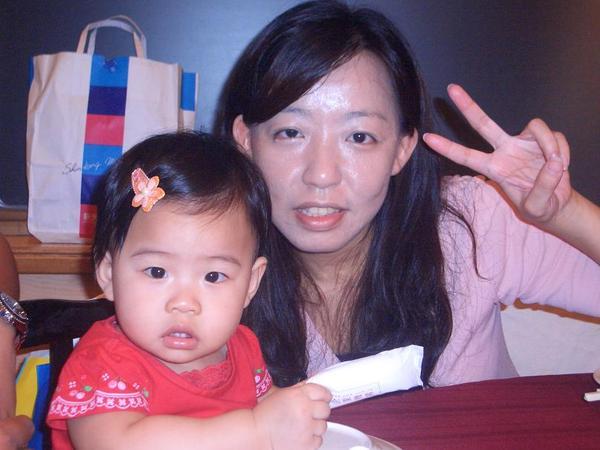 2007.9.1--今天是寶貝彤一歲生日喔~~^^