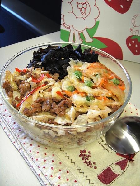 川式泡菜肉末兒