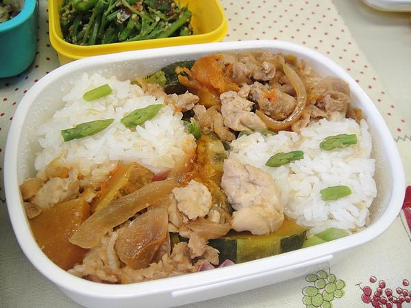 南瓜豆腐燉肉